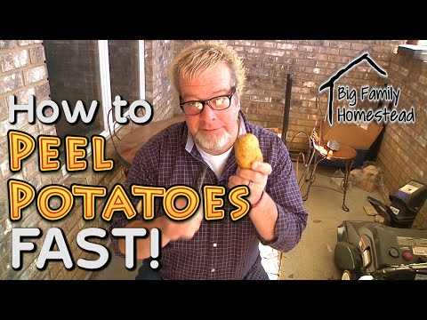 Peeling Potatoes FAST