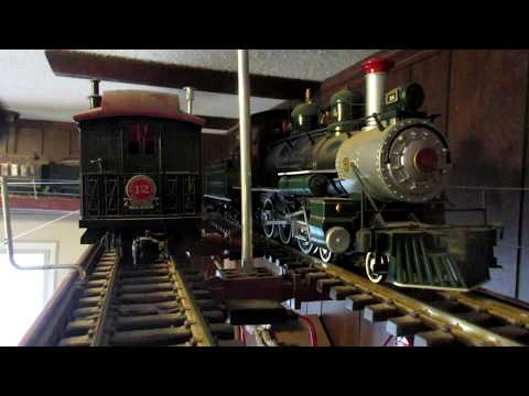 G-Scale Bachman E.T.&W.N.C No. 14 On My Ceiling Track