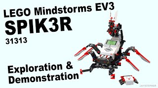 Review - Lego Mindstorms Ev3: Spik3r (31313) [cc]