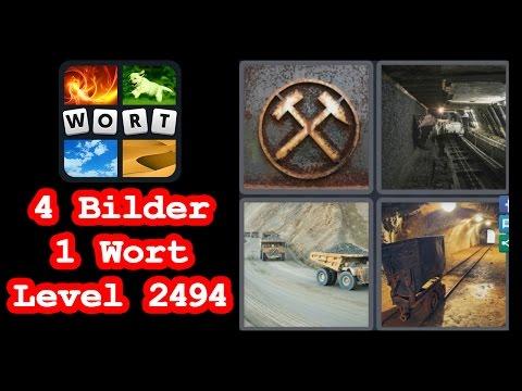 4 Bilder 1 Wort - Level 2494 - Stollen, Lastwagen, Lore - Lösung