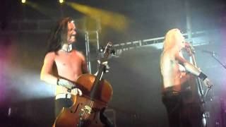 Apocalyptica - Enter Sandman 25.01.12