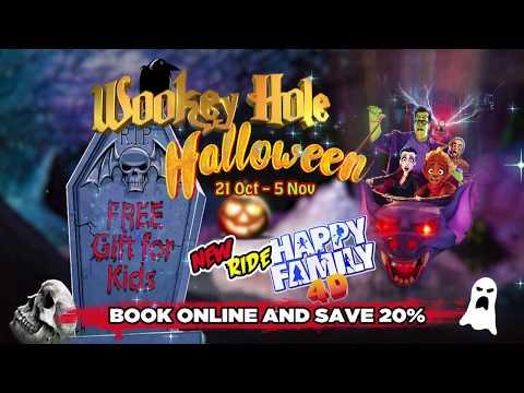 Wookey Hole Halloween 2017