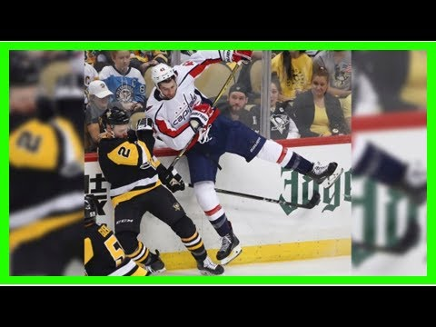 Caps  Tom Wilson suspended 3 games for hit on Pens  Aston-Reese ... fae52fb138a6