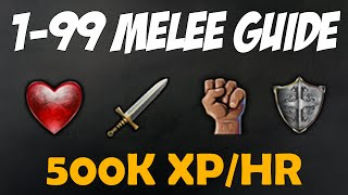Runescape 2016 | 1-99 Melee Guide