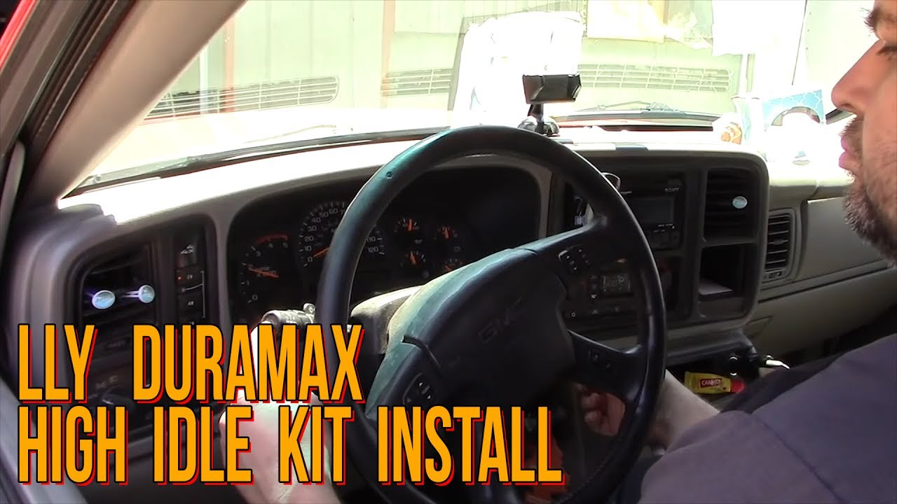 Lly Duramax High Idle Kit Install Youtube 2004 Chevrolet C5500 Wiring Harness