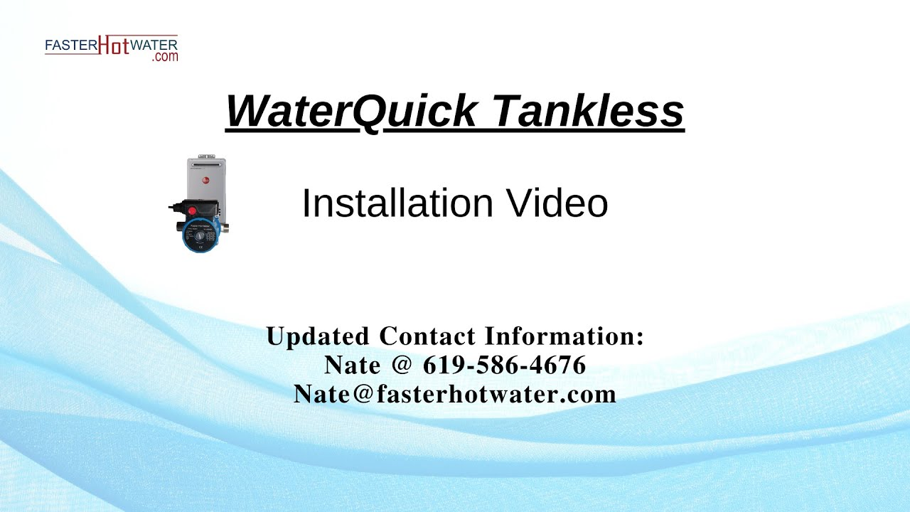 How To Install A Hot Water Circulation Pump On Tankless Taco Wire Diagram Timers Heater