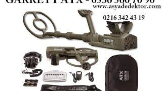 ikinci el dedektör, GARET ATX, 0532 595 01 38, kiralık garrett atx, dedektör fiyatı, 2 el dedektör,