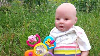 Шоппинг с куклой Реборн наши новинки мы в городе