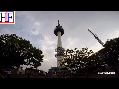 Seoul | Namsan Tower (North Seoul Tower) | Tourist Attractions | Episode# 6