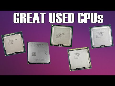5 Great Used Gaming CPUs That Don't Cost Too Much - 2017