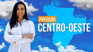 Previsão Centro-Oeste - Chuviscos em MS