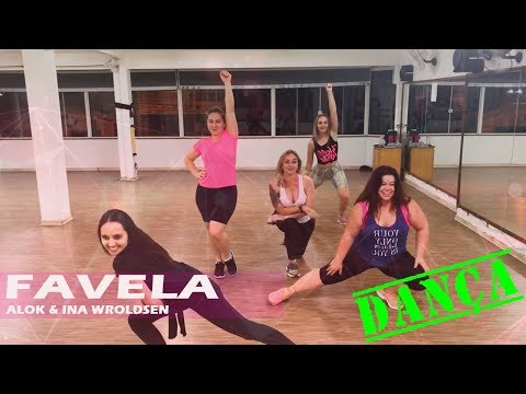 Alok & Ina Wroldsen  Favela  Coreografia Angela Leal