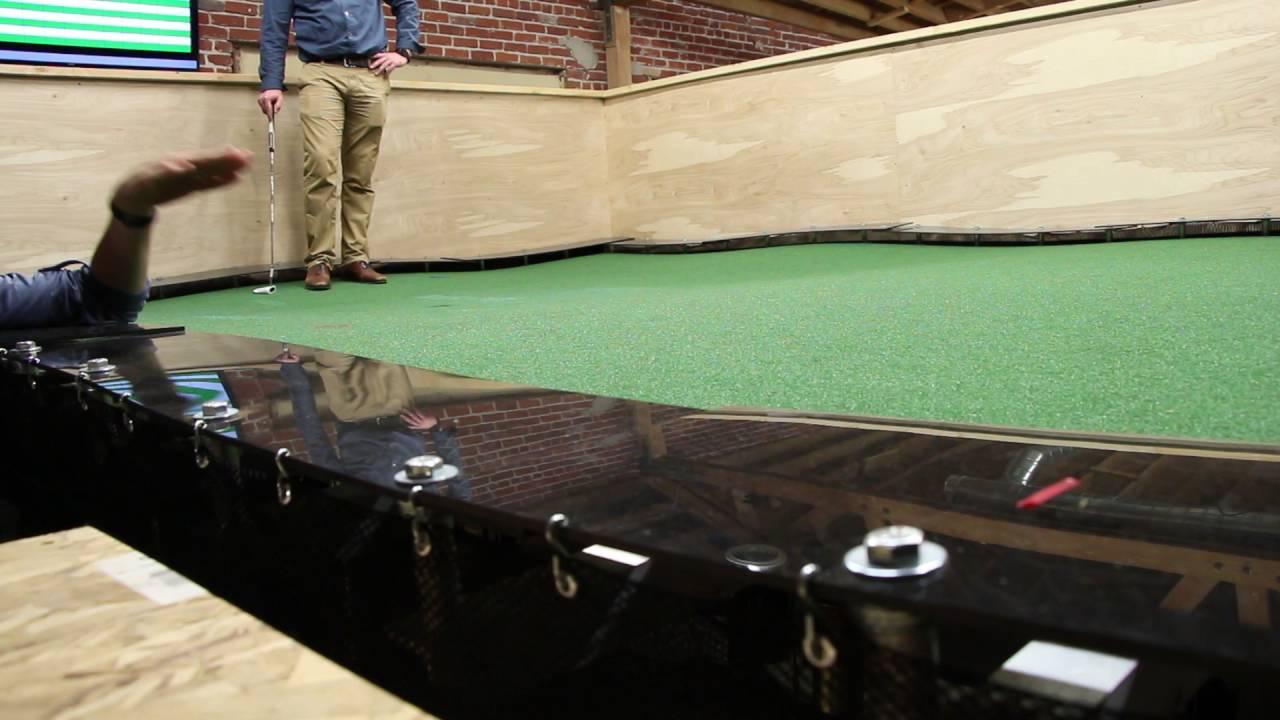 Adjustable Golf Green Machine Youtube