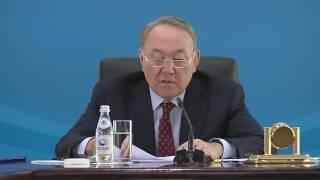 Назарбаев про вид Астаны