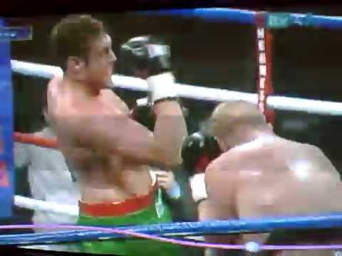 Tyson Fury punching himself in the face 1 - YouTube
