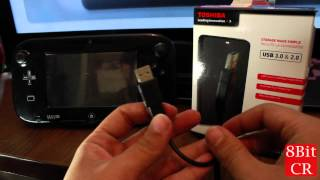 Como usar un disco duro externo en el WiiU? [en español] | 8BitCR