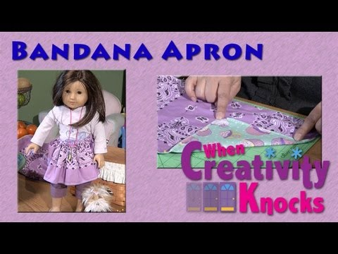 Bandana Aprons For Girls And Their Dolls