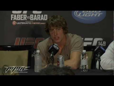 UFC 149: Matt Riddle Steals Show at UFC 149 Post-Fight Presser, Calls Out Dan Hardy