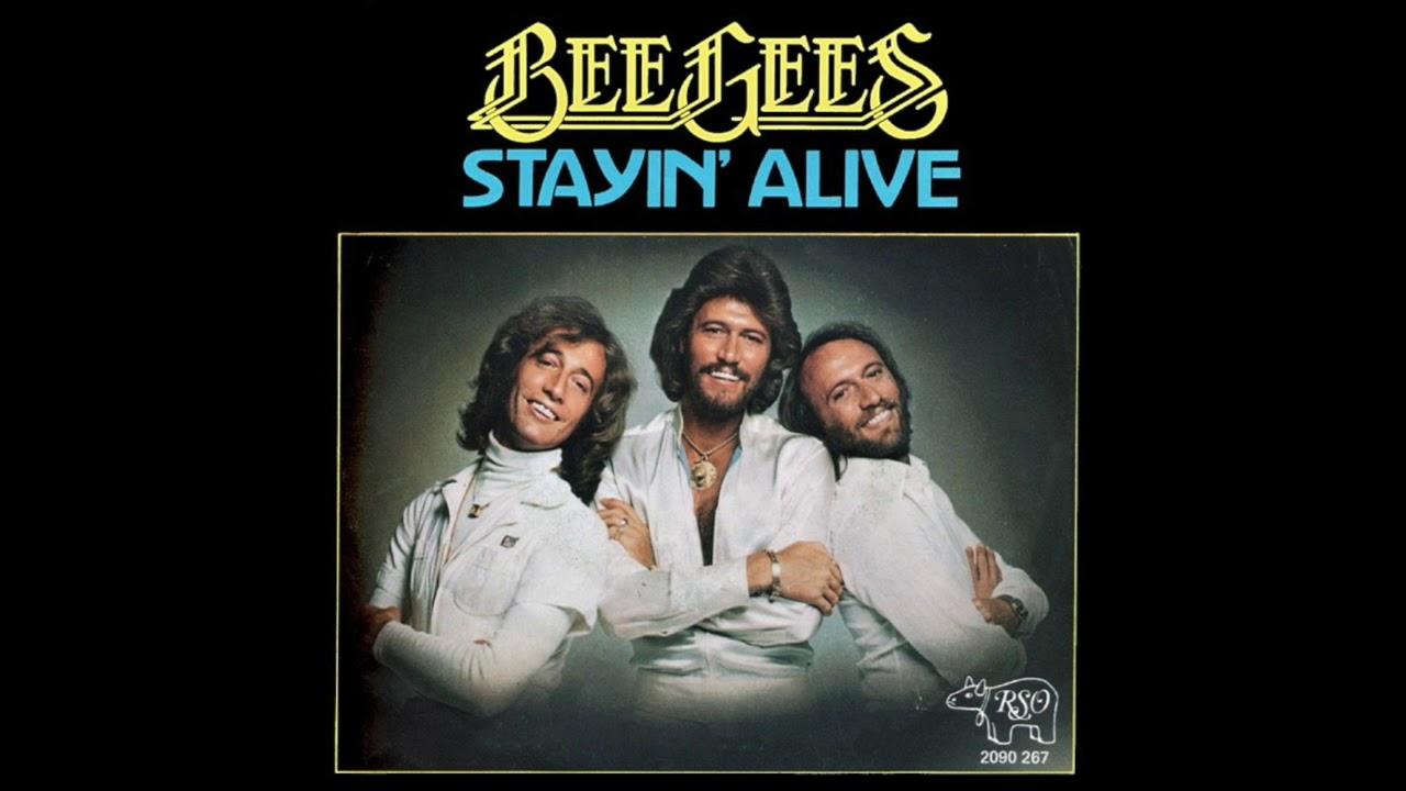"""Resultado de imagen para """"Stayin' Alive"""" por Bee Gees"""