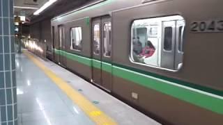釜山都市鉄道2号線2000系電車VVVFインバーターGEC Alstom GTO