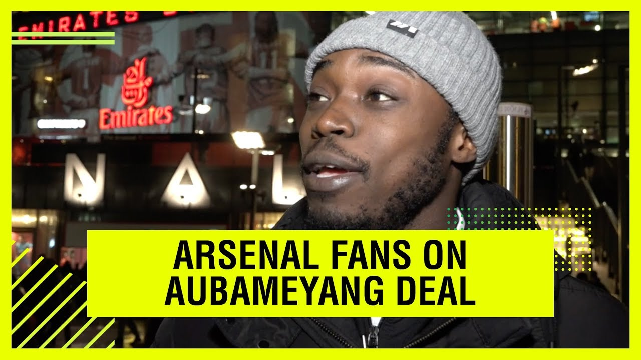 69a897fe5 ARSENAL FANS ON A POTENTIAL AUBAMEYANG DEAL - YouTube