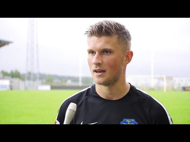 Intervju, Falkenbergs FF   Helsingborgs IF, Superettan 2017