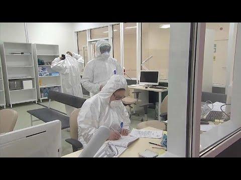 Рост числа заражённых коронавирусом в РФ