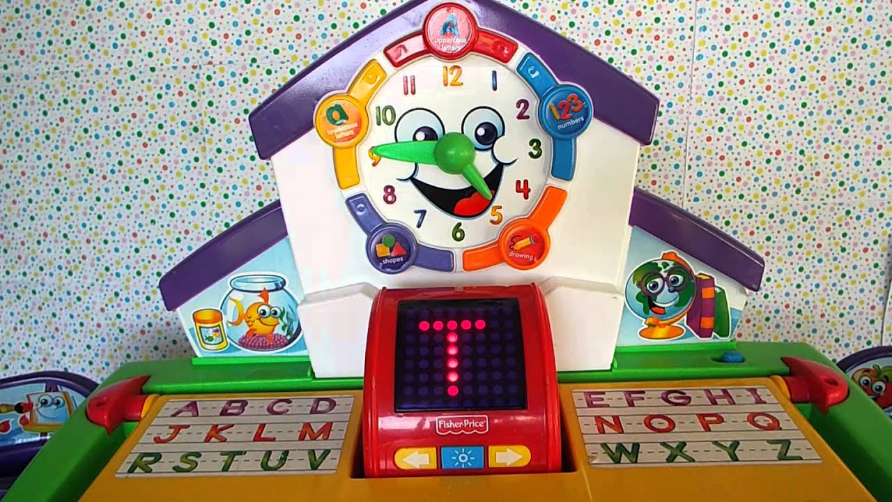 Fisher price fun 2 learn teaching clock instructions | fisher.