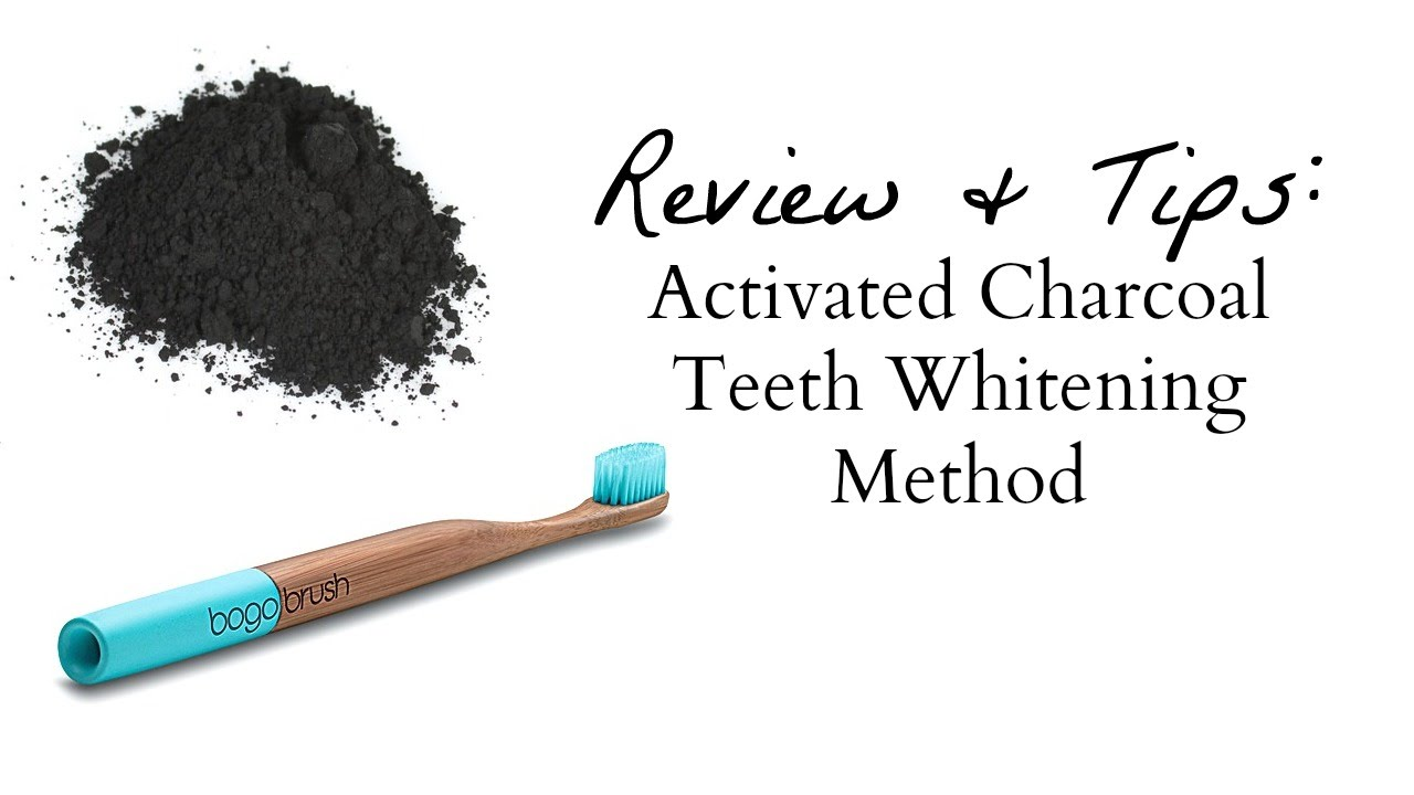 How To Make Activated Charcoal Teeth Whitening Powder Review Tips