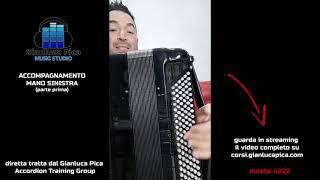 ACCOMPAGNAMENTO MANO SINISTRA parte prima  | preview –  video completo su: corsi.gianlucapica.com