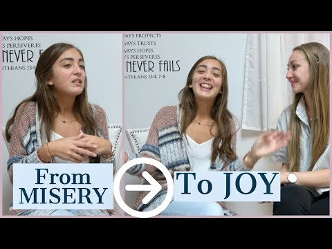 FROM MISERY TO JOY // therapy, faith & unconditional love