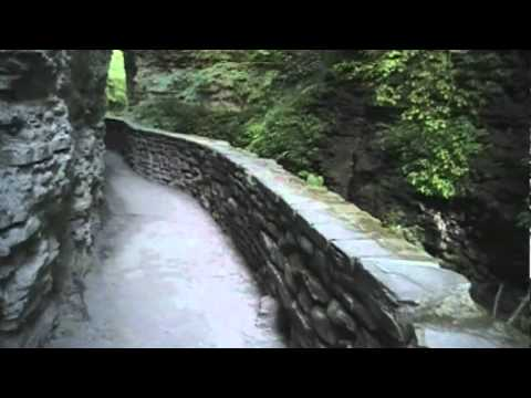 A Hike at Watkins Glen State Park: The Gorge Trail