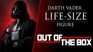 Out Of The Box Darth Vader Life Size Figure Youtube