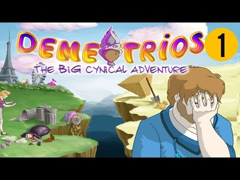 Demetrios - The BIG Cynical Adventure (PS4 Europe)- Part 1 The apartment