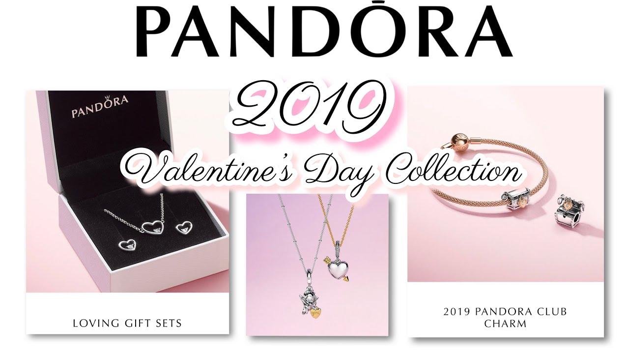 03bfaf0d0 Pandora 2019 Valentine's Day Collection & Pandora Charm Club 2019 ...