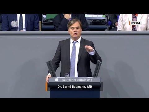 Bundestag. TUMULT bei Einforderung von Parlamentsgesetz. Dr. Bernd Baumann AfD 24.10.2019