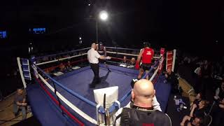 Ultra White Collar Boxing | Middlesbrough | Ethan Burgess VS Nick Shallow