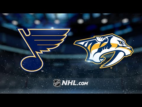 Rinne, Predators shut out Blues, 4-0