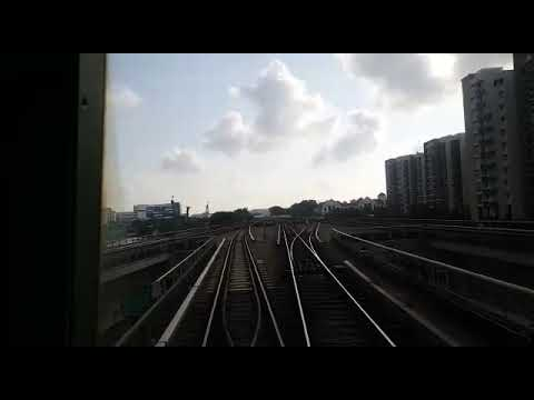 Episode 33: Singapore East West Line Depot ride (EW4 Tanah Merah to Changi Depot cab view)