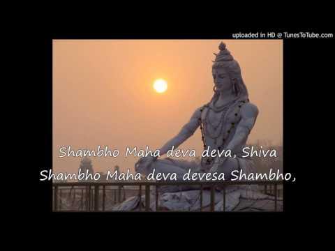 SHIVA - Margabandhu Stotram with BIG...