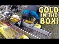 Gold in the sluice box!