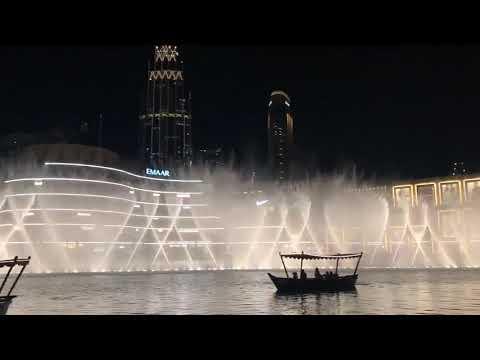 I'll Never Love Again (A Star is Born song) at The Dubai Fountain