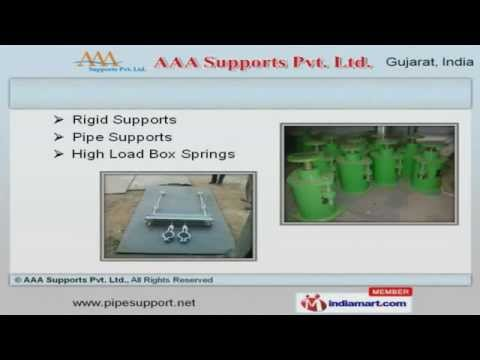 Spring Supports And Allied Equipment By AAA Supports Pvt. Ltd., Vadodara