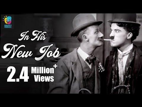 Charlie Chaplin In His New Job (1915) | Ben Turpin | Charlotte Mineau