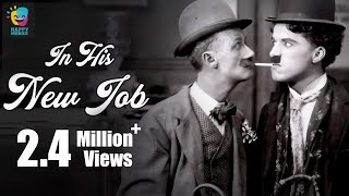 Charlie Chaplin In His New Job (1915)   Ben Turpin   Charlotte Mineau