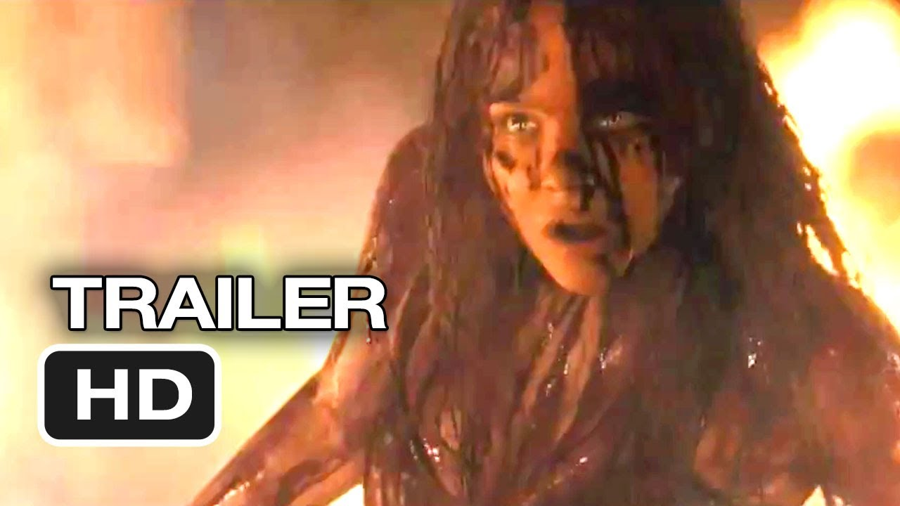 Carrie Trailer 1 2013 Chloe Moretz Julianne Moore