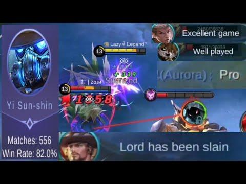 The best Yi Sun-Shin player 💪 Build & Emblem Set | Mobile Legends: Bang Bang thumbnail