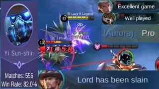 The best Yi Sun-Shin player Build amp Emblem Set Mobile Legends Bang Bang