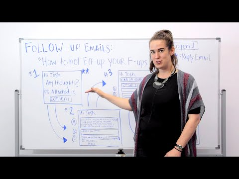 Follow Up Emails: How to Not Eff-Up your F-Ups (ft. Becc Holland)