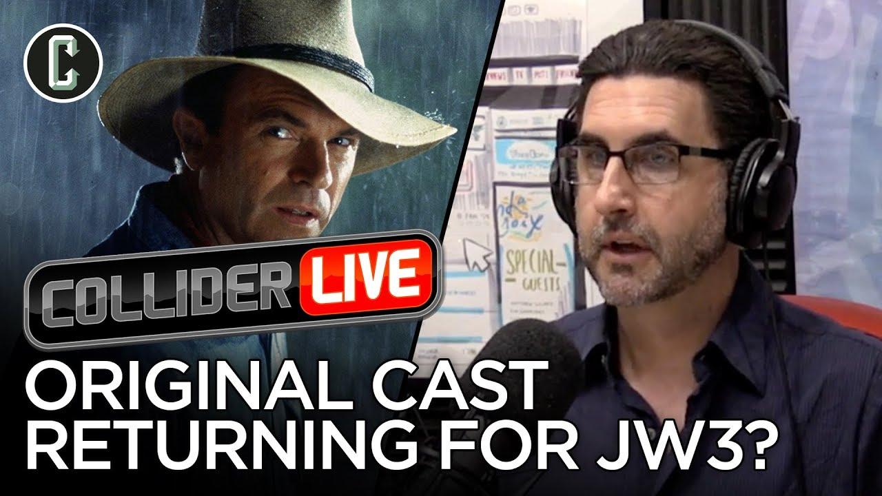 Will the Original Jurassic Park Cast Appear in Jurassic World 3?